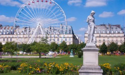 Gourmet moments and relaxation in the Jardin des Tuileries