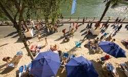 Paris Plages 2014 : Beaches and the big screen