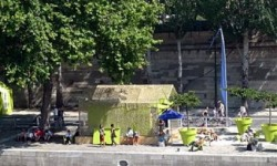 Paris Plages; the capital turns into a seaside resort in early July
